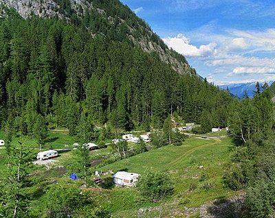 Le camping St Disdille à Thonon-les-Bains