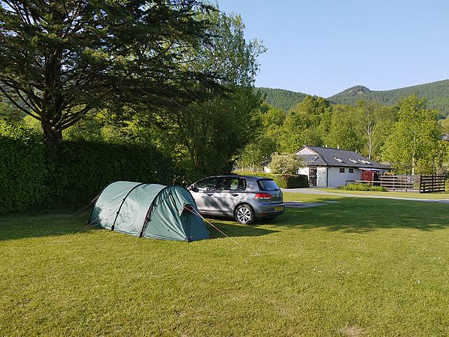 Le camping Le petit Liou à Baratier