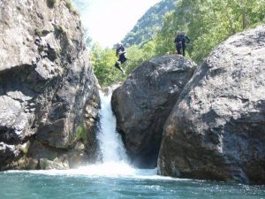 canyoning proche camping